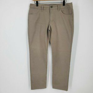 Adidas 5 Pocket Twill Khaki Pants S23508 sz 32/32